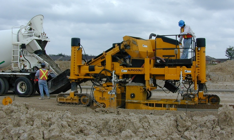 curb machine